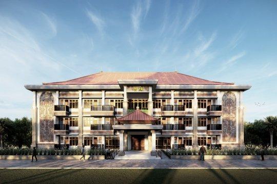 Kementerian PUPR bangun rusun Sekolah Tinggi Agama Hindu di Bali