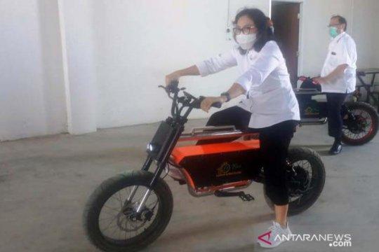 Dirjen Kemenperin kagumi sepeda listrik karya warga NTB