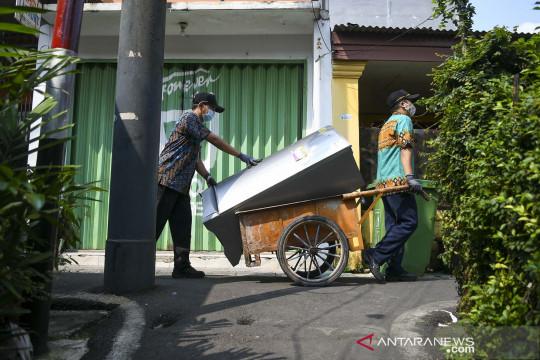 Jakarta Barat produksi 1.000 sampai 1.400 ton sampah per hari