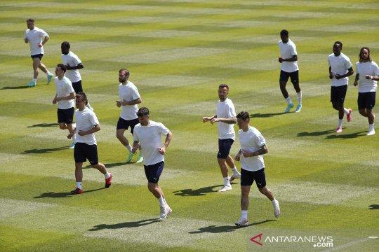 Piala Eropa 2020 : Timnas Swiss bersiap jelang lawan Wales
