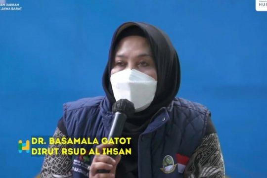 Mayoritas pasien COVID-19 dirujuk ke RSUD Al-Ihsan Jabar kritis