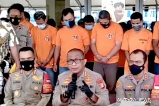 49 preman terduga pelaku pungli di Tanjung Priok ditangkap