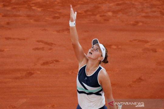 Juara French Open Krejcikova lalui debut babak pertama Wimbledon