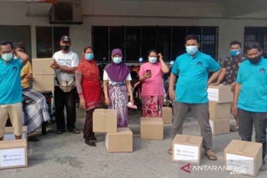"""KBRI Kuala Lumpur, KAHMI salurkan logistik ke WNI terdampak """"lockdown"""""""