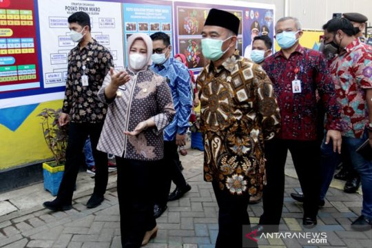 Menko PMK apresiasi upaya Pemkot Makassar tekan laju COVID-19