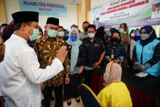 500 ODGJ RSKD Dadi Makassar siap divaksin