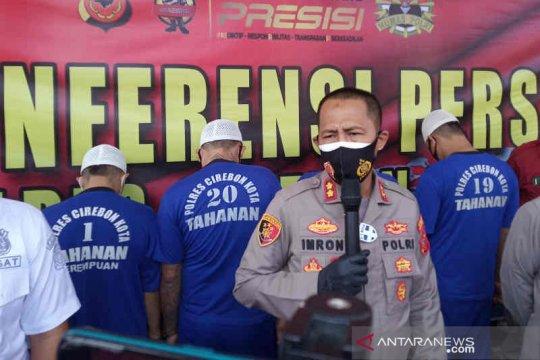 Polisi menangkap empat begal sadis di Kota Cirebon
