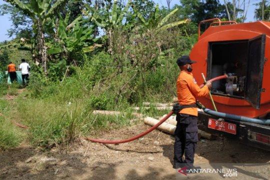 Warga selatan Tasikmalaya kesulitan air karena mulai dilanda kemarau