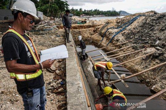 Pembangunan venue perahu layar PON Papua ditargetkan selesai akhir Juli