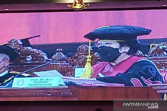 Megawati Soekarnoputri resmi sandang gelar profesor kehormatan