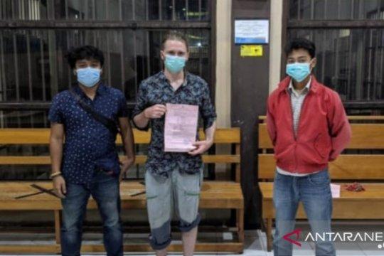 Polda Kaltara tangkap seorang WNA membawa permen mengandung ganja