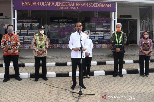 Presiden Jokowi tinjau Bandara Jenderal Besar Soedirman Purbalingga