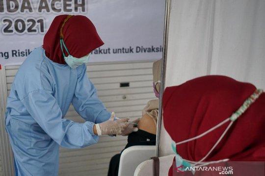 Kasus COVID-19 di Aceh bertambah 284 orang