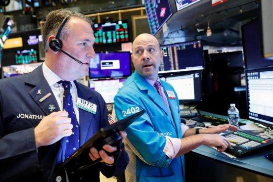 Wall Street dibuka lebih tinggi setelah sesi yang optimis