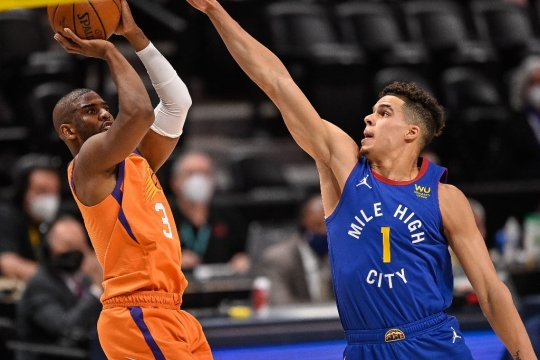 Phoenix Suns tinggal satu gim lagi ke final Wilayah Barat
