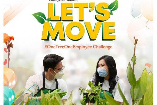 Rayakan HUT ke-75, BNI ajak karyawan tanam 7.500 pohon