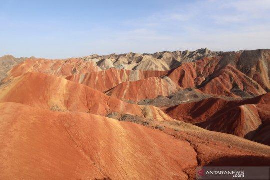 Danxia, titisan planet Mars di tengah Gurun Gobi