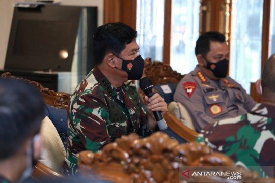 Panglima TNI minta antisipasi lonjakan kasus COVID-19 di Jakarta