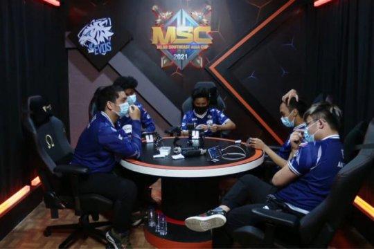 EVOS Legends turun ke lower bracket MSC 2021