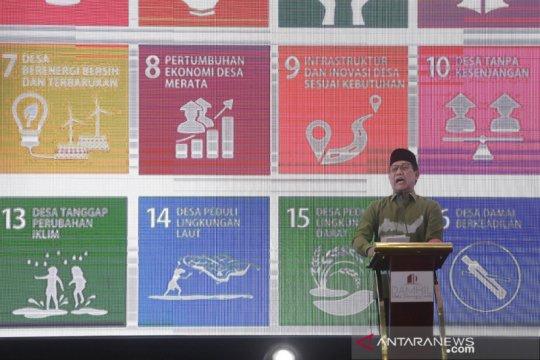 Mendes optimistis pembangunan lebih terarah melalui SDGs desa
