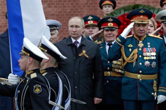 Parpol Rusia pro Putin menang setelah aksi penumpasan