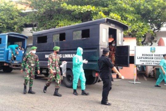 "Sebanyak 179 pasien ""klaster Madura"" dirawat di RSLI Surabaya"