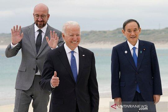 Biden tegaskan dukungan untuk Olimpiade Tokyo