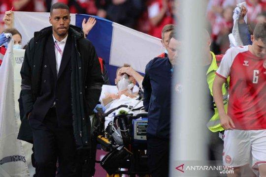 Presiden UEFA doakan Christian Eriksen lekas pulih