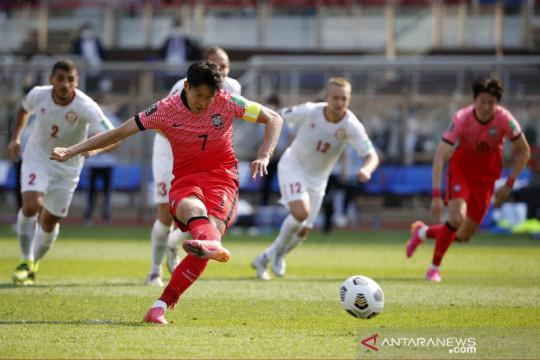 Kualifikasi Piala Dunia : Korsel menang 2-1 atas Lebanon