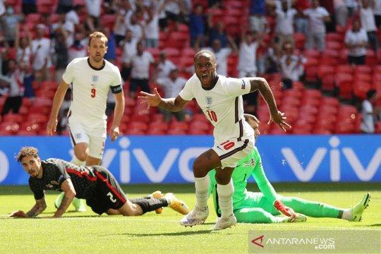 Raheem Sterling antar Inggris revans kecil atas Kroasia