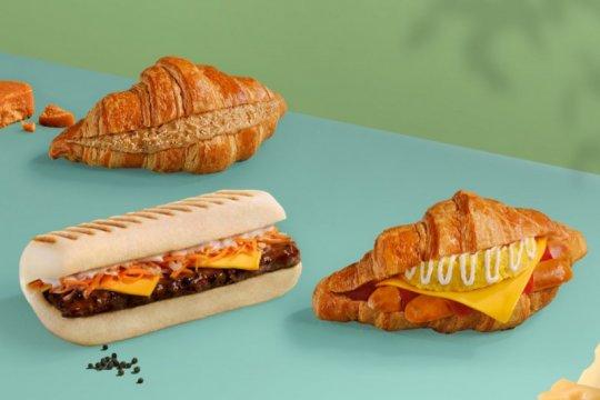 Roti lapis Italia dan roti khas Prancis hadir jadi teman ngopi