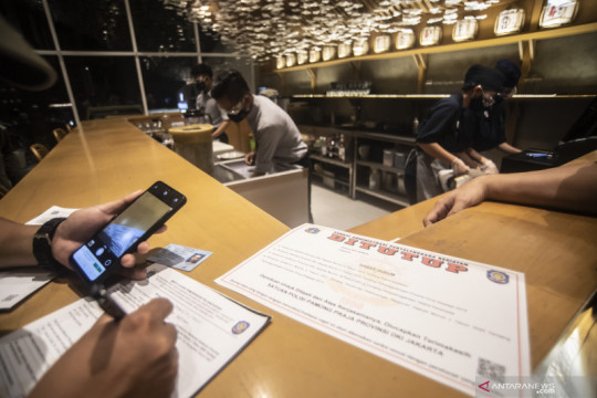 78 perusahaan di Jakarta Barat diperiksa terkait prokes selama PPKM