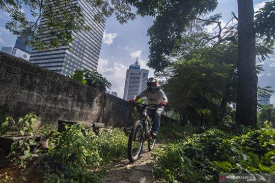 Ombudsman Jakarta minta kaji pembongkaran jalur sepeda