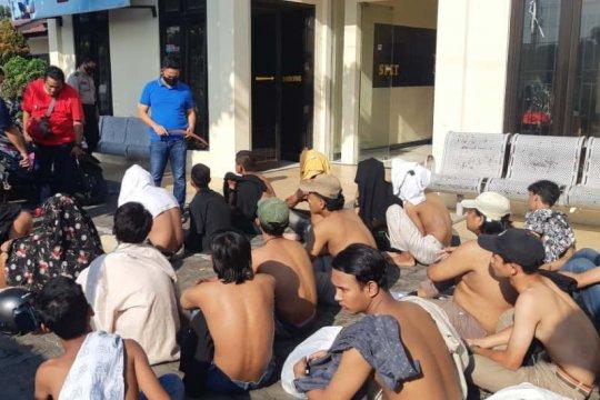 Polisi amankan 20 pelaku tawuran di Semarang