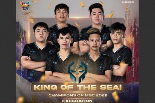 Tim Filipina Execration juara Asia Tenggara Mobile Legends MSC 2021