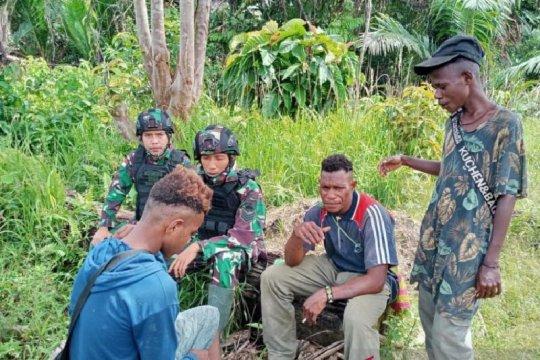 Satgas TNI ajak pemuda perbatasan RI-PNG jauhi narkoba dan minuman keras
