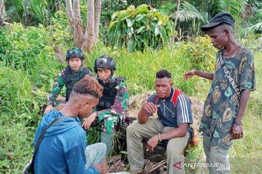 Satgas TNI ajak pemuda di perbatasan jauhi narkoba dan minuman keras