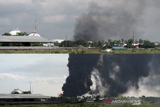 Pertamina: Kebakaran di Kilang Cilacap berhasil dipadamkan