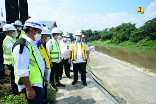 Menteri PUPR optimis proyek Pintu Air Demangan Surakarta tuntas 2021