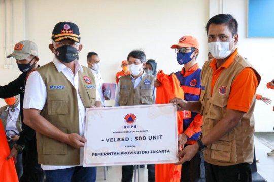 Fasilitas isolasi Rusun Nagrak Cilincing dapat bantuan 500 velbed