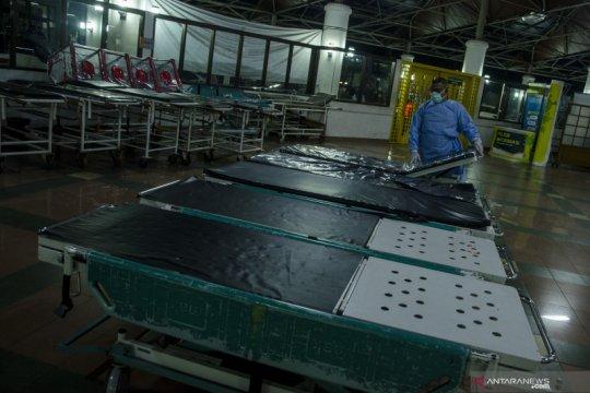 Keterisian tempat tidur rumah sakit di Jawa Barat turun jadi 40 persen