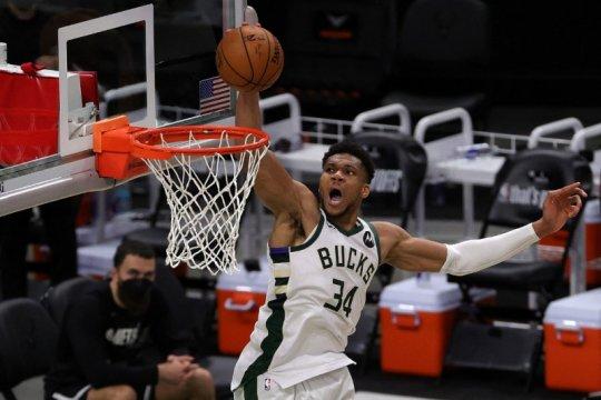 Bucks samakan kedudukan 2-2 lawan Nets