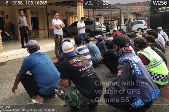 Polda Banten amankan 438 orang diduga lakukan aksi premanisme