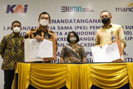 Bank Mandiri siapkan pembiayaan kredit talangan bagi vendor mitra KAI
