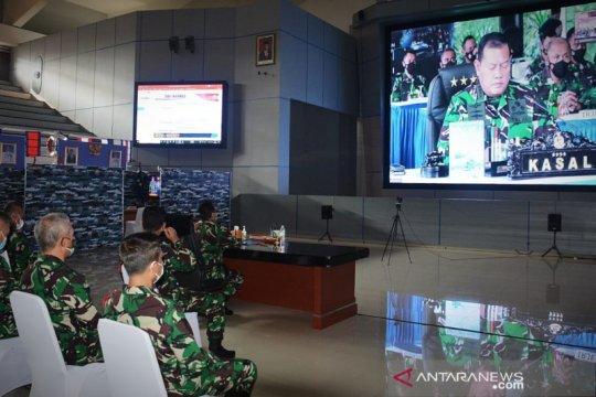 """Kasal buka latihan puncak """"Armada Jaya"""" TNI AL 2021"""