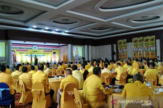 Golkar Sultra mulai bangun konsolidasi persiapan Pemilu 2024
