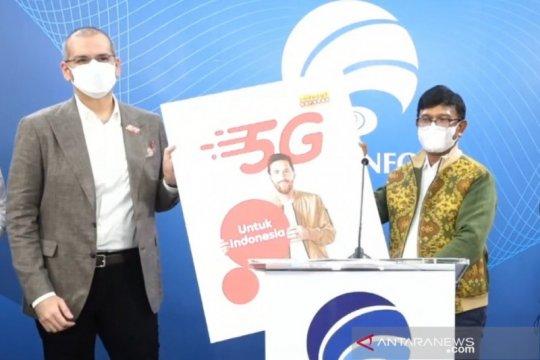 Kominfo beri izin Indosat komersialisasi layanan 5G