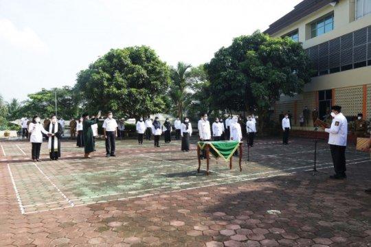 Gubernur Banten lantik pengganti 20 pejabat Dinkes yang mundur