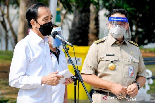 Pangdam Jaya, Kapolda Metro dan Kajati DKI sambangi kantor Anies