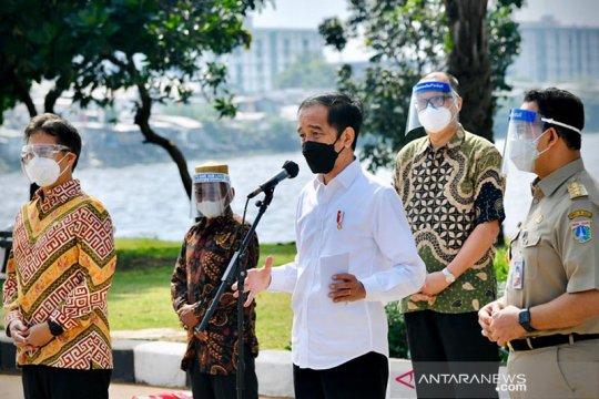 Presiden harap DKI Jakarta capai kekebalan komunal bulan Agustus